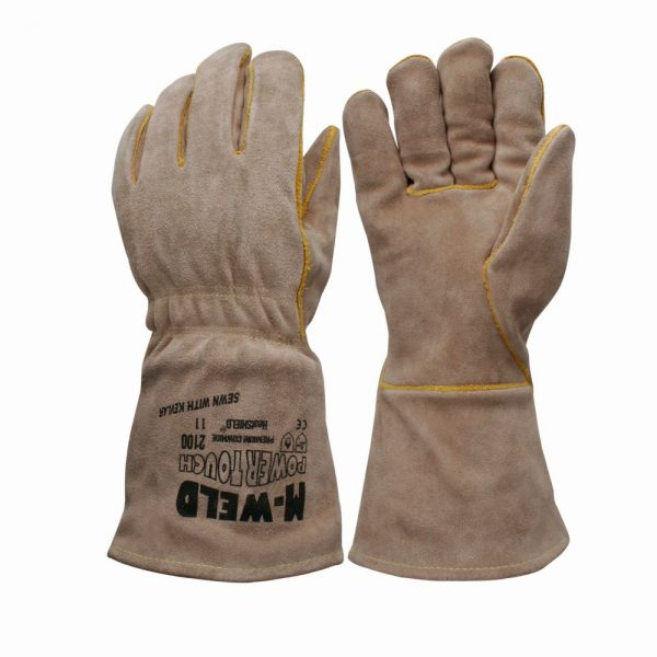Flame resistant hand protection