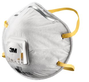 Cupped Particulate Respirator 8812
