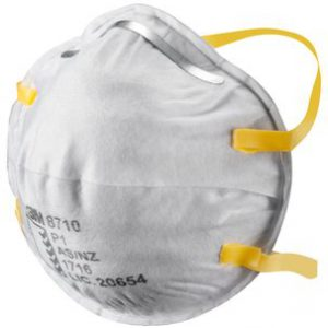 3M Cupped Particulate Respirator 8710